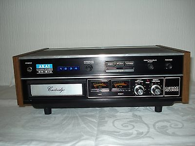 AKAI CR-81D 8 Track Stereo Cartridge Player and Recorder.  Vintage circa-1970's