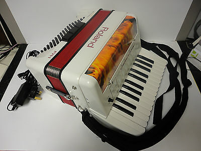 Roland FR-1 Accordion with accessories & Roland Carry Bag