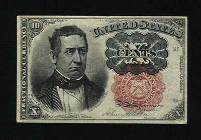 United States - Fractional currency -. Cat# 122. 10 Cents.  XF.