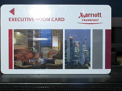FRANKFURT FULL-SERVICE MARRIOTT 43RD FLOOR EXECUTIVE LEVEL KEY------10-piece SET