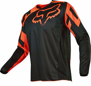 Fox Racing 180 Race 2017 Mens MX/Offroad Jersey Orange/Black