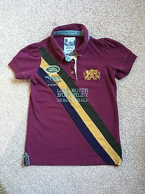 JOULES Burghley Horse Polo Shirt 11 12 Years