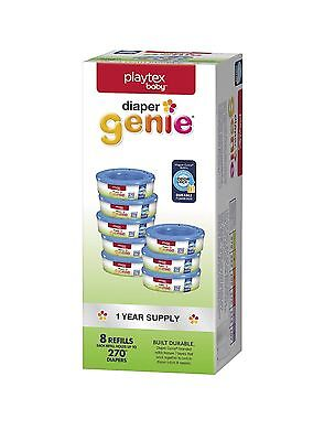 Playtex Baby Child Care Diaper Genie Refill Gift Set - 2160 Diapers - Great for