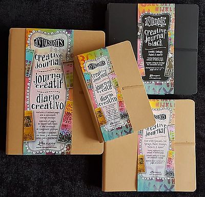 Ranger Dylusions Creative Journal, Several sizes inc the Dyary REDUCED TO CLEAR!