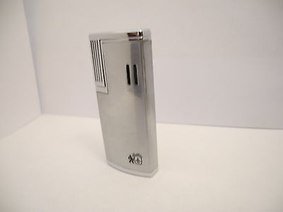 Colibri  Sst  Single Action Coil Brushed Silver / Chrome  Torch  Lighter  New .
