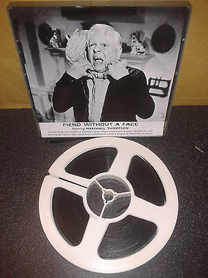 FIEND WITHOUT A FACE - Sci Fi Horror - Super 8mm 400ft SILENT Cine Film Movie
