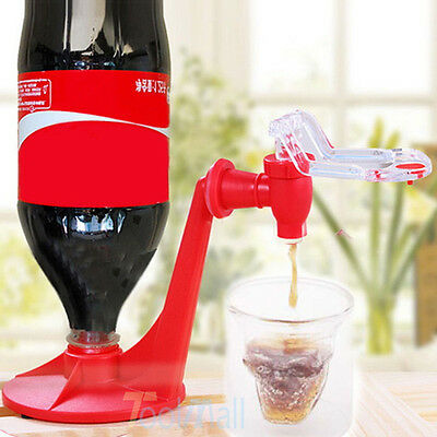 Fizz Portable Soda Saver Dispenser Bottle Drinking Water Dispense Machine Gadget