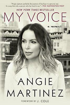 My Voice: A Memoir by Angie Martinez (English) Paperback Book Free Shipping!