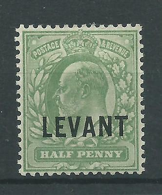 British Levant - 1905 To 1912 - SGL1a - CV £ 8.50 - Mounted Mint