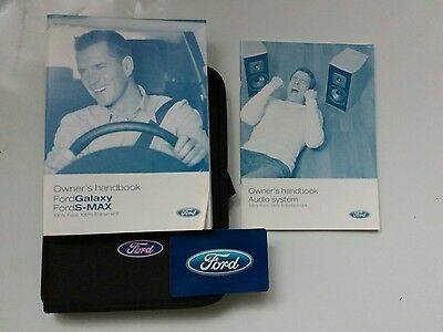 Ford Galaxy / S-Max Owners Handbook, Blank Service Book 2006-2009