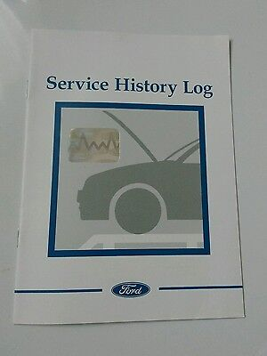 Rare Blank Ford Service Book,RS,ST,Fiesta,Focus,Mondeo,S-Max,Transit 2003-2006