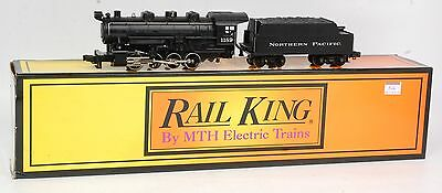 MTH - 30-1124-0- Locomotive vapeur  0-8-0  Northern Pacific  en O