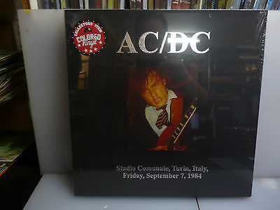 Ac/dc-Stadio Comunale, Turin 1984.-2Lp Red Vinyl Hardcover Boxset.-New Sealed
