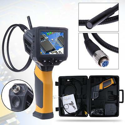 TFT IP67 LCD Industrial Video Borescope Endoscope Tube Inspection Camera 3.5""