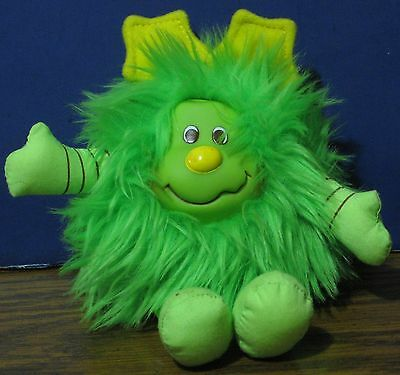 Rainbow Brite Plush Lucky Sprite - Patty O'Green Companion - Green 6""