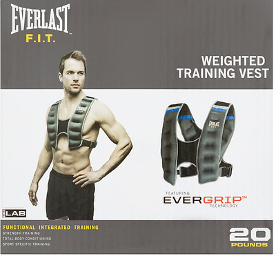 Everlast 10 lb. Weighted Vest, Cardio, Weight Training, Workout, Exercise