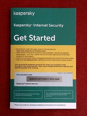 Kaspersky Internet Security 2019, 5 PC Mac Android iOS (Exp. Date: 08/10/2020)