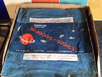 Vintage Subbuteo Journey Into Space Game