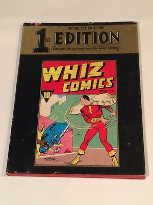 Famous First Editions #F-4 Hardcover Whiz Comics with dust jacket DC Comics