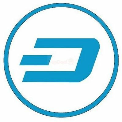 0.10 Dash - Direct to your wallet digital transfer
