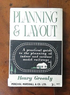 Planning & Layout by Henry Greenly - Percival Marshall 1947 - 47 pages