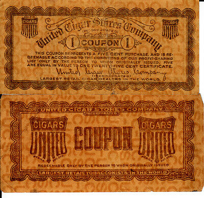 United Cigar Store's Company 2 Coupon