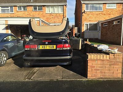 Saab 93 2000 2.0Se Turbo Convertible Good Condition Bargain Only 99P Start Price
