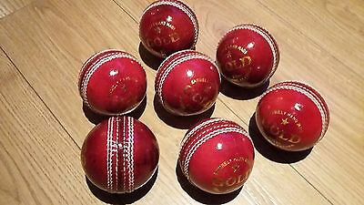 cricket 4 peice balls 5.5 OZ  × 7. ( brand new 2 or 3 balls have liitle marks.