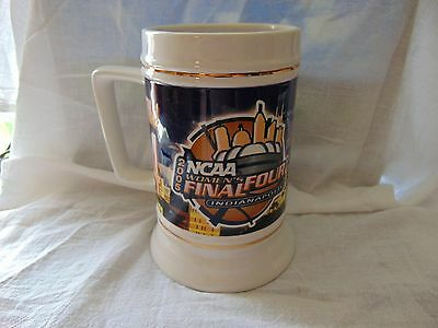 New 2005 Beer Mug / Stein. NCAA, WOMEN'S Final Four. Indianapolis
