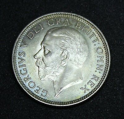 ~~ Great Britain George V 1927 Proof Shilling ~~