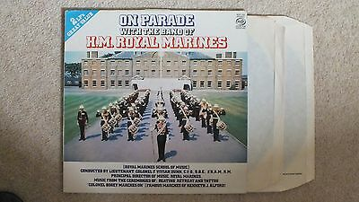 On Parade with the Band of the H. M. MARINES (Double Album)