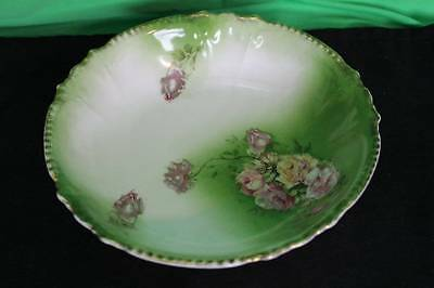 Vintage Royal Bavarian China Bowl Decorative Collectible German European Dish