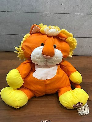 Fisher Price Wild Puffalump Lion Plush Toy Stuffed Animal 8051 Vintage 80s