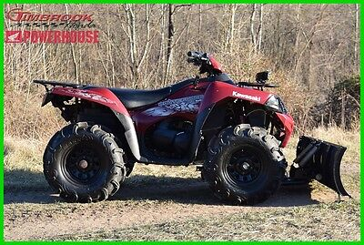 2010 Kawasaki Brute Force 750 4X4I Winch Plow Extras