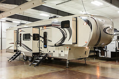 New 2017 Model 386FK Front Kitchen Luxury 5 Slide Out 5th Fifth Wheel Sleeps 6