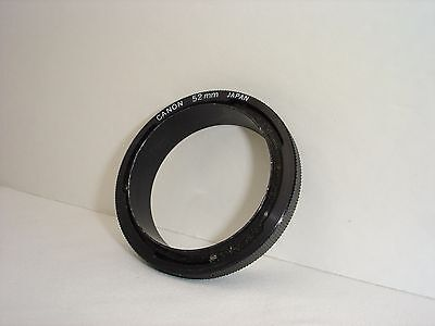 52mm Reverse adapter for CANON FD mount camera , for Macro Photo,