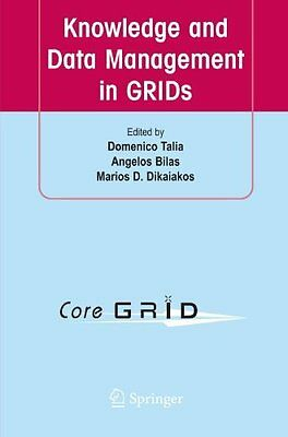 Knowledge and Data Management in GRIDs Paperback New  Book