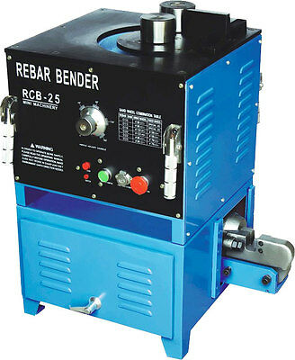Rebar Cutter and Bender 25mm Reo Rio Reinforcing Capacity Electric 1500w