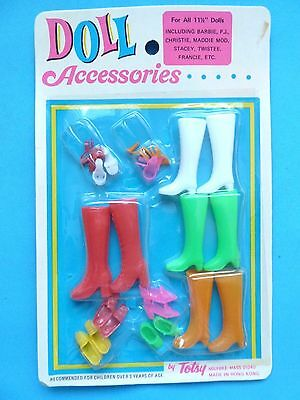 Vintage Barbie Doll Accessories By Totsy Nrfb Nfrp 1970's 2