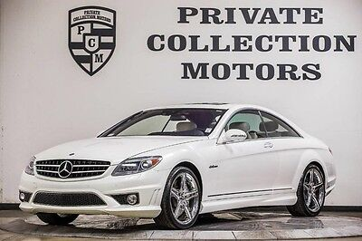 2008 Mercedes-Benz CL-Class Base Coupe 2-Door 2008 Mercedes Benz CL63 AMG Designo 1 Owner Clean Carfax Low Miles Well Kept