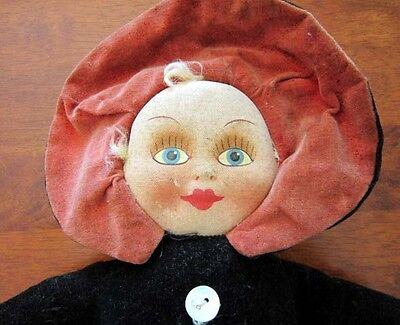 Vintage Cloth Doll unmarked