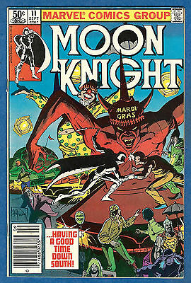 MOON KNIGHT # 11  1981- Volume 1 (vg-fn)
