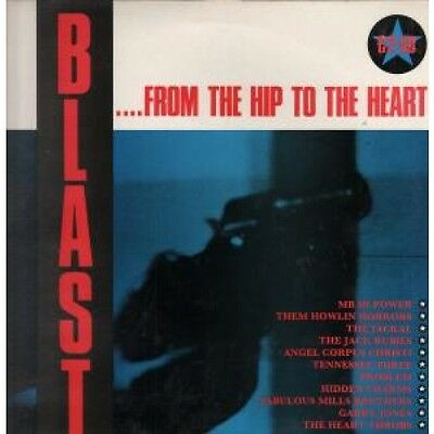 BLAST FROM THE HIP TO THE HEART Various LP VINYL UK Criminal Damage 11 Track