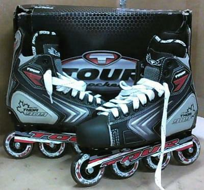 Tour Hockey 52TA09 Thor 909 Inline Hockey Skates Men US Sz 9 $123 - READ