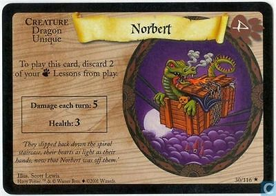 Harry Potter TCG Base Set Norbert 30/116