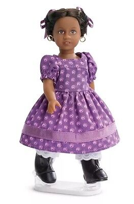 AMERICAN GIRL 6.5in ADDY WALKER 2016 SPECIAL EDITION MINI DOLL STAND & BOOK