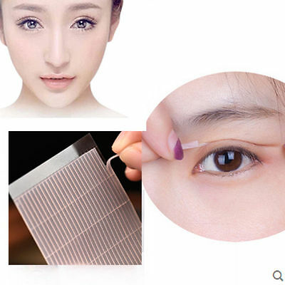 208pcs Invisible Fiber Double Side Adhesive Eyelid Stickers Technical EyeTapesUK