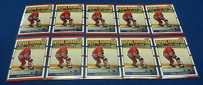(10) 1990-91 Score AMERICAN Eric Lindros #440 ROOKIE CARDS Nm/Mt NHL Flyers HOF