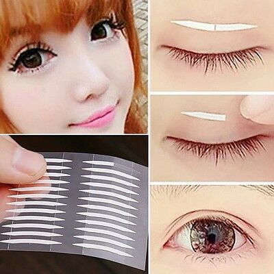 Easy use Double sided Eyelid Tape 240PC/pack 3D Double Sides Adhesive sticker UK