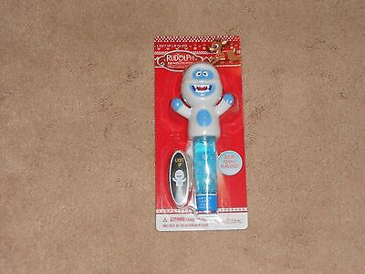 New, Rudolph The Red Nosed Reindeer Light Up Lip Gloss, Bumble
